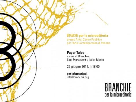 BRANCHIE per la microeditoria | Paper Tales