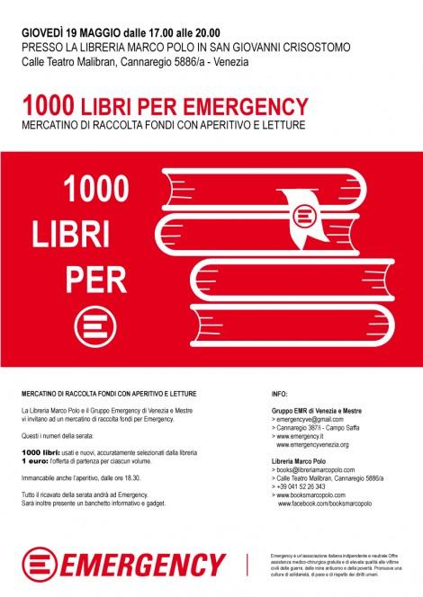 1000 libri per Emergency