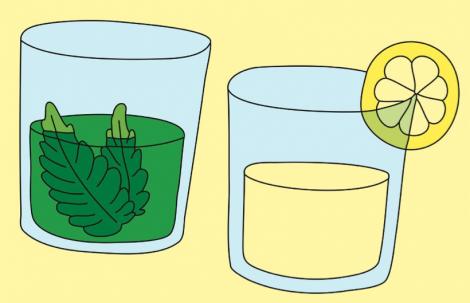 Acqua & Menta + Acqua & Limone