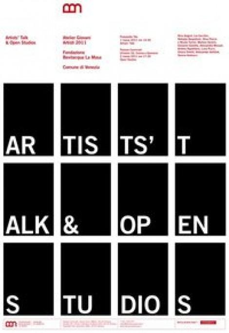 Artist's Talk e Open Studios alla Fondazione Bevilacqua la Masa