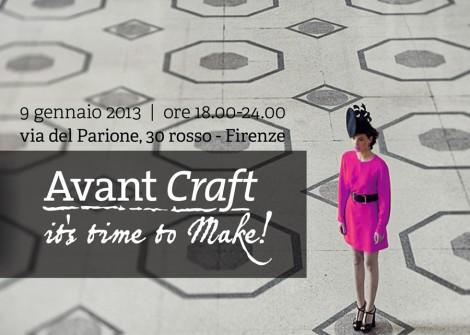 Avant Craft - temporary store