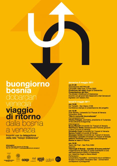Dobardan Venecija, Viaggio di ritorno dalla Bosnia a Venezia