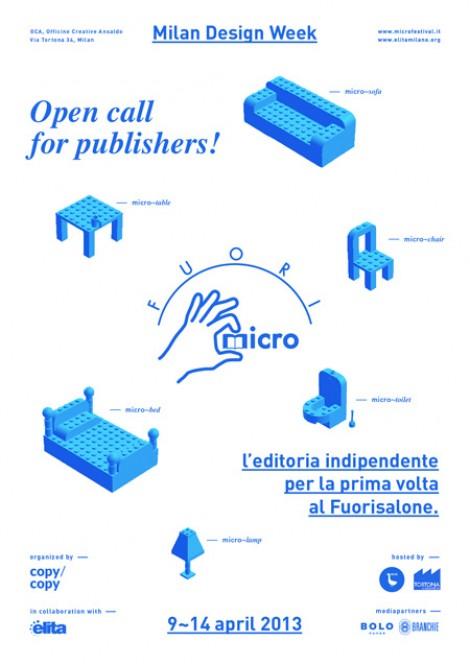 fuoriMICRO, un nuovo appuntamento con l'editoria indipendente a Milano