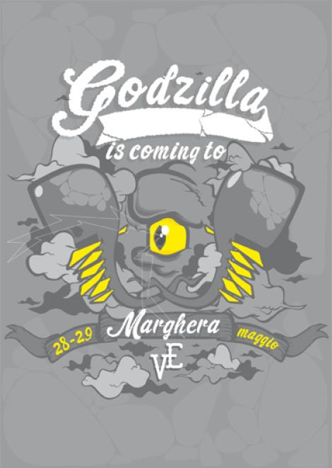 Godzilla is coming to Marghera