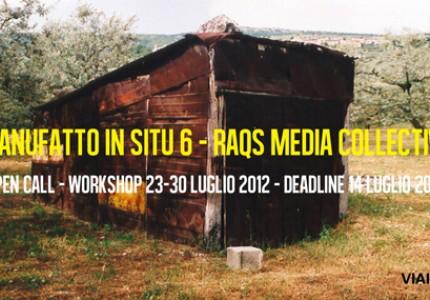 Workshop/residenza nel Parco per l'Arte di Cancelli (PG)