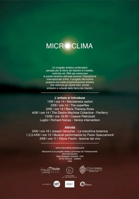 Microclima: Richard Nonas alla Serra dei Giardini